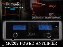 1-McintoshMC202アンプ